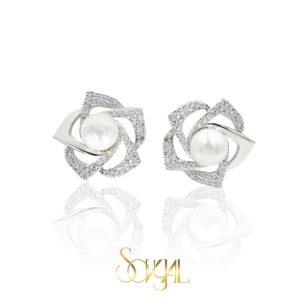 Soft Zircon Earring