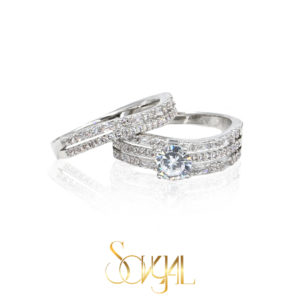 Wedding and engagement rings