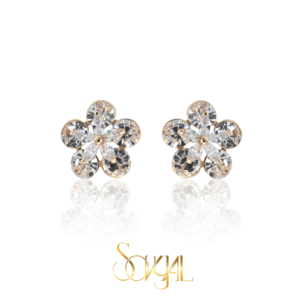 Soft Zircon Earring
