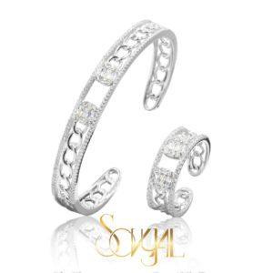 Evening bracelet set